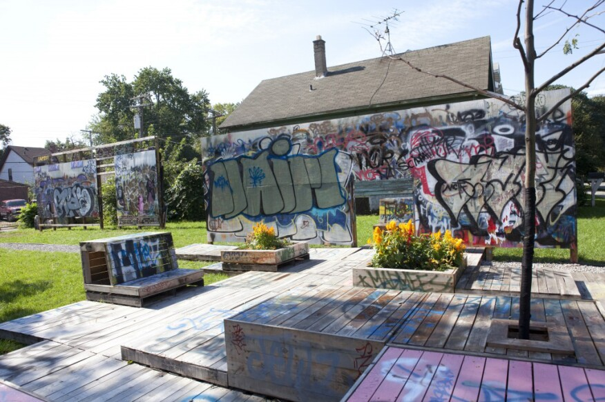 The DCDC's TAP, which turned vacant lots into a graffiti art gallery