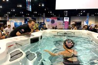 Master Spas Holds Michael Phelps Swim Spa Challenge at U.S. Olympic Trials