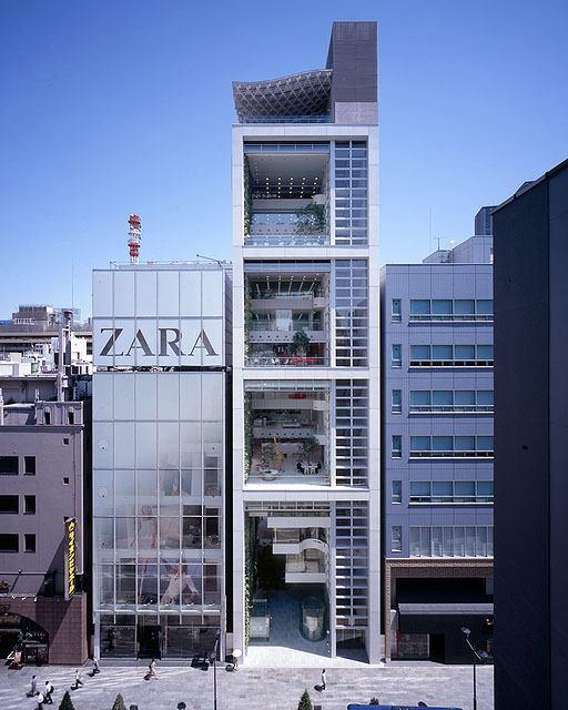 Nicolas G. Hayek Center, Tokyo, 2007.