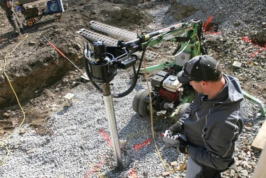 Working With Helical Piers