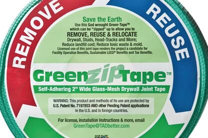 Award: Green-Zip Tape