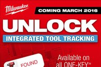 Integrated Tool Tracking Through One-Key from Milwaukee