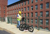 Ground penetrating radar system for utility locations