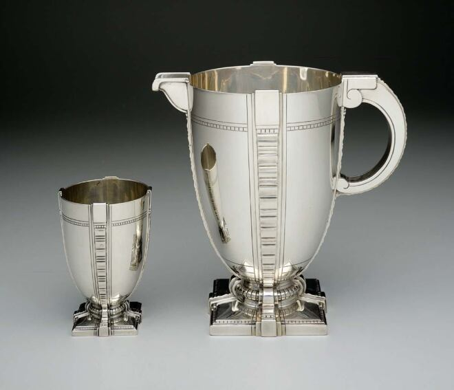 Exhibits: Modernism in American Silver: 20th Century Design, and more