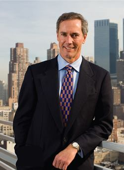 Scot Sellers, CEO of Archston S Smith, will oversee more projects such as these new residential towers on West 52nd St. in midtown Manhattan.