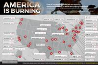 Another Fire in String of Wood Fueled Catastrophes across the Country