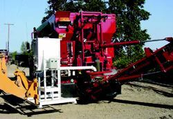 Nation's Mini-Mix of Eugene, Ore., has had success using volumetric mixers for  batching and delivering pervious concrete.