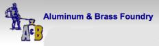 A & B Aluminum & Brass Foundry Logo