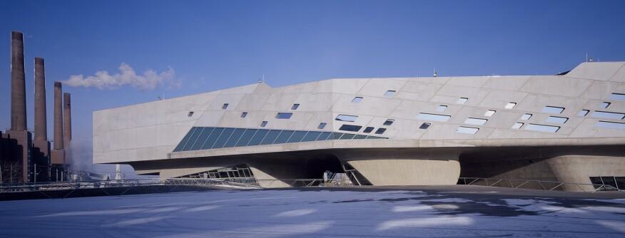 Hadid's Phaeno Science Center in Wolfsburg, Germany (2005)