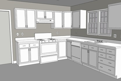 Kitchen renovation and home remodeling projects