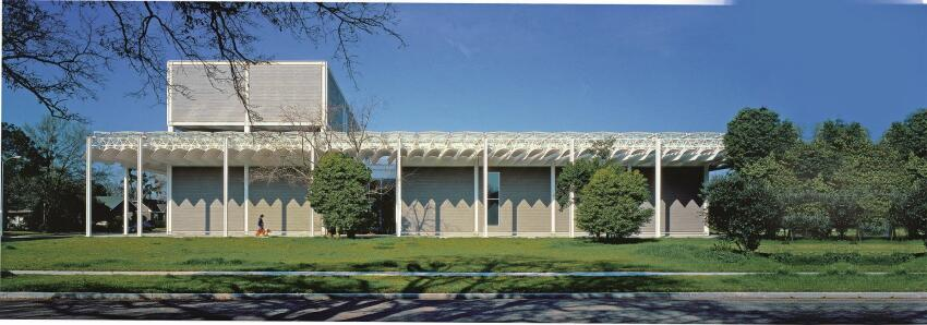 The Menil Collection, designed by Renzo Piano, opened in 1987.