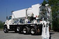 Volumetric concrete mixer technology