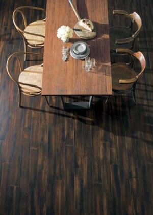 Teragren says its Portfolio Collection of bamboo flooring is a wide-plank product that's an alternative to tropical hardwoods.