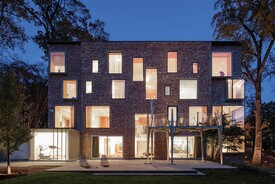 Startling Renovation Makes 1920s Brick House an Artful Modern
