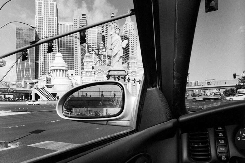 "Book: ""America by Car,"" Lee Friedlander"