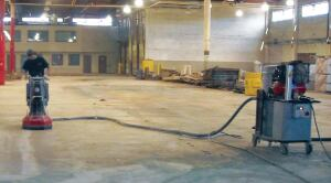 Many manufacturers have eliminated silica dust exposure at the source by using vacuum assisted power tools used in conjunction with HEPA filter industrial vacuum cleaners. In this setup, the vacuum hose is integrated into the power tool to quickly and easily suck up dust and debris while the operator simultaneously drills or sands.