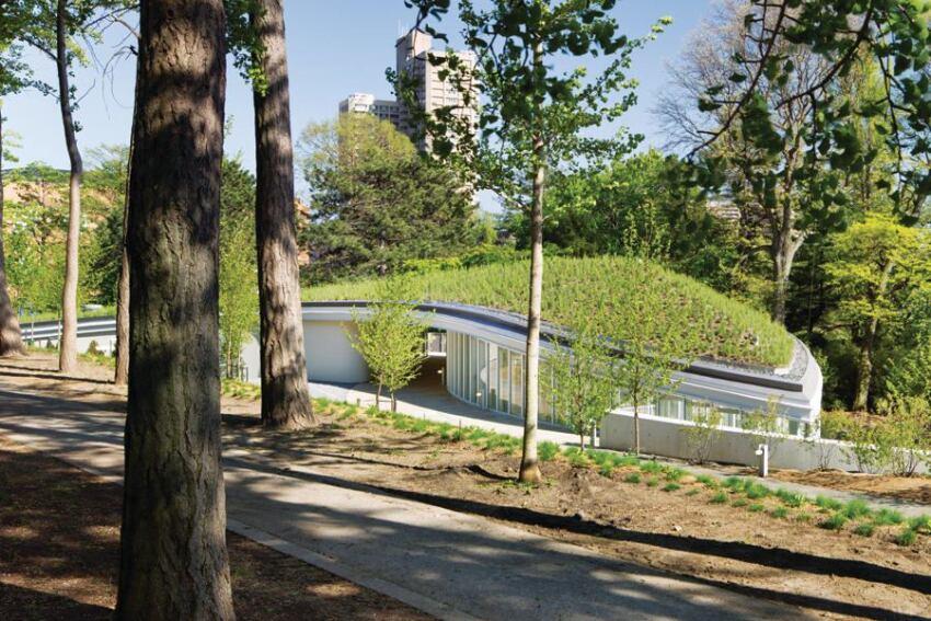 2012 Annual Design Review, Bond Category, Award: Brooklyn Botanic Garden Visitor Center