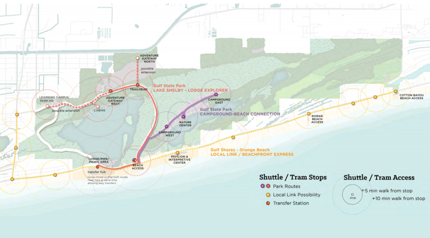 image via Gulf State Park Enhancement Project