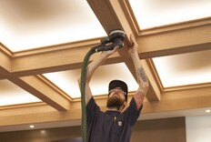A Craftsman-Style Coffered Ceiling