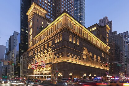 Carnegie Hall Studio Towers Renovation Project