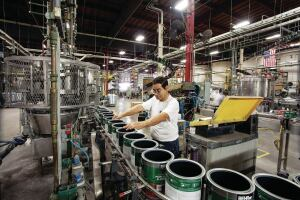 Behr paint factory, Santa Ana, Calif.