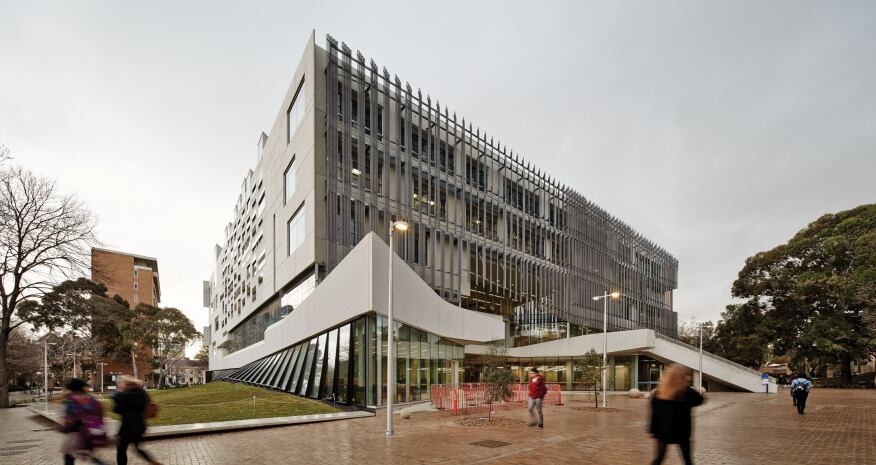 Faculty Of Architecture Building And Planning Designed By John Wardle Architects And Nadaaa In