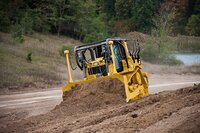 The Cat Dozer Features Fuel Efficiency, Automatic Transmission and Connect GRADE Technology
