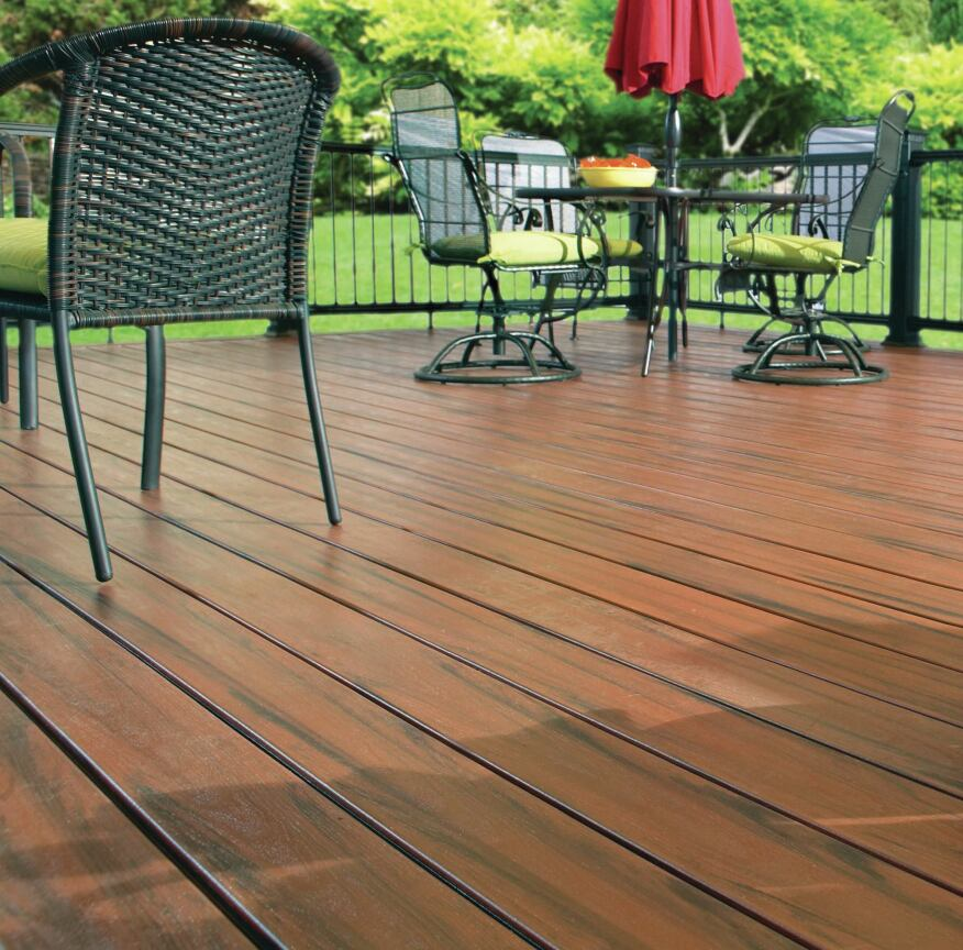 Rhino deck armadillo decking professional deck builder for Recycled decking material