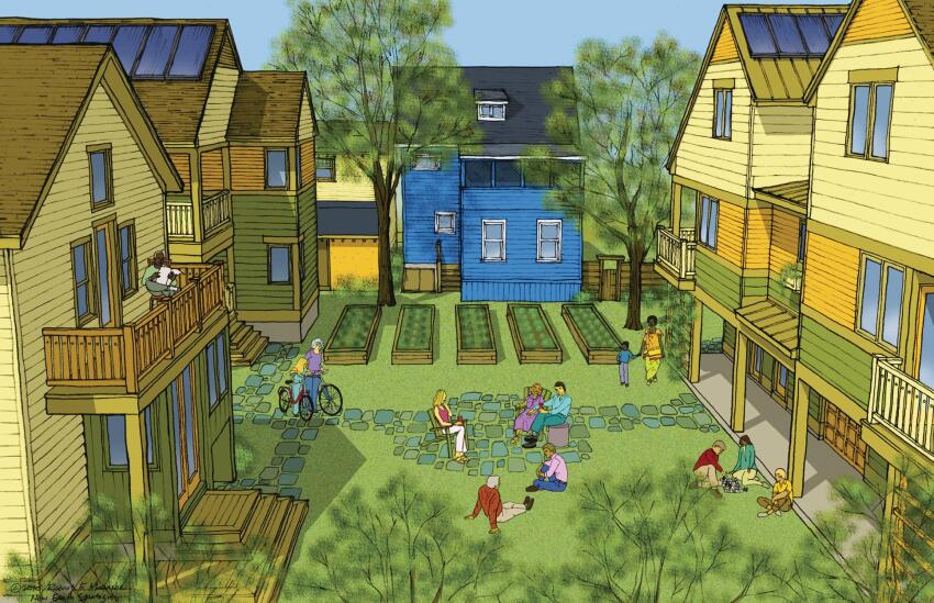 The Big Idea: Ultra-Sustainable Infill Community in Ithaca