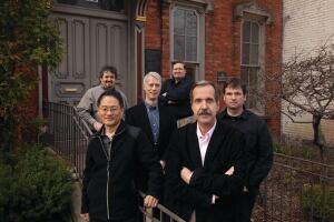 The Urban Priorities Committee meets weekly at Beaubien House, Detroit AIAs headquarters.