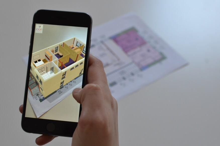 Augment is among a new class of mobile apps that let project teams experience building plans in 3D.
