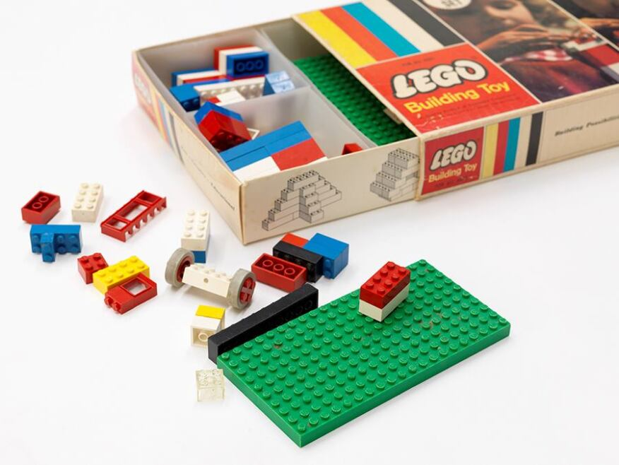 Building Toys From The 90s : At the national building museum construction toys get a