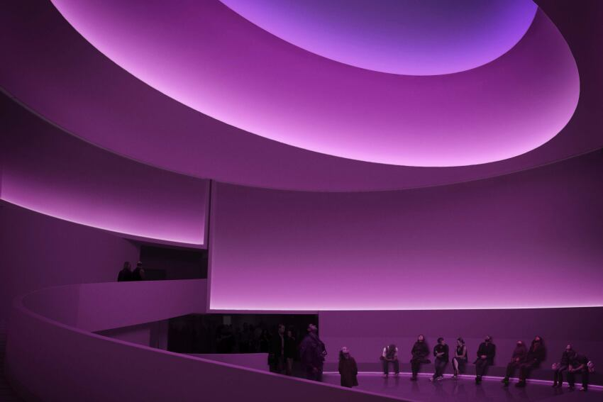 How James Turrell Makes His Light Artworks in Los Angeles Houston New York