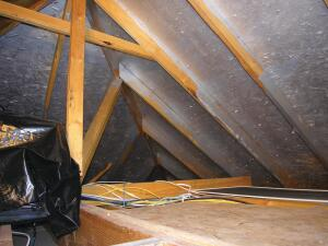 HeatBloc-Ultra    STS Coating  heatbloc.net  Radiant heat barrier coating that blocks more than 80% of radiant heat transfer into the attic - 0.19 emissivity rating - Very low VOCs and almost no odor - May be applied by brush, roller, or sprayer - Can save 10% to 15% on air conditioning costs