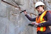 Probe Detects Corrosion in Reinforced Concrete Structures