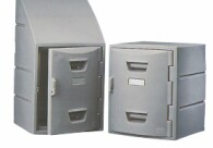 Remcon's Durable, Lightweight Plastic Lockers