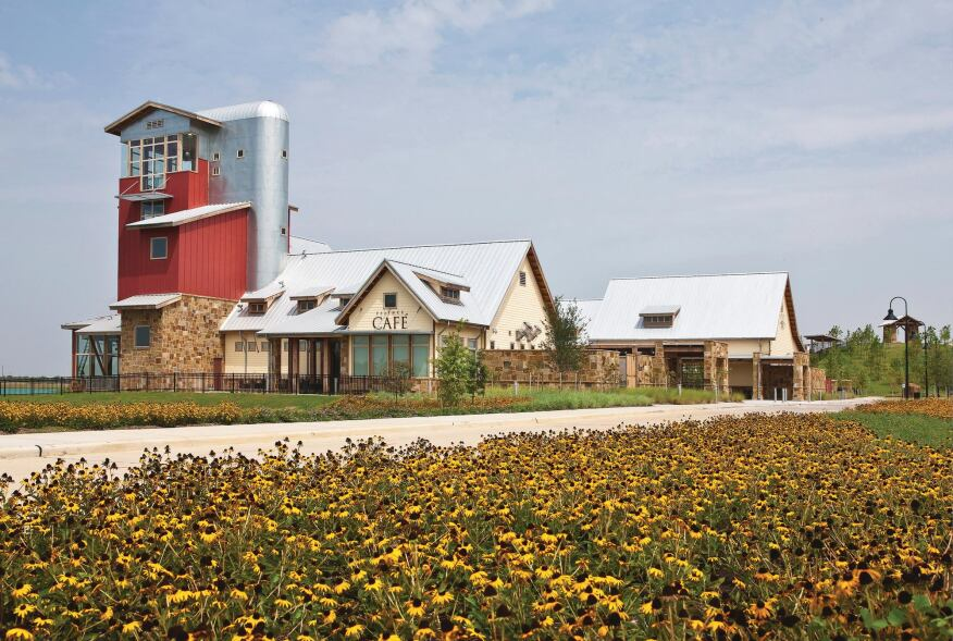 Range Grower Community buildings pay homage to Cross Creek's ranch roots.