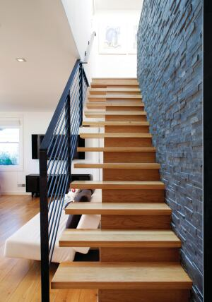 Trailers For Less >> An Easier Way to Design Floating Stairs | Builder Magazine ...