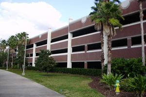 Last year's winner, a parking garage at the University of Central Florida.