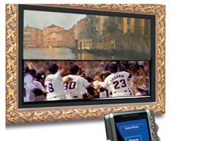 VisionArt Offers System to Conceal Flat-Screen TV