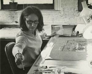 Judith Edelman at work in her studio and her home.