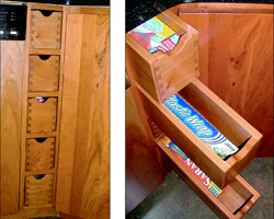 Clever Storage for Kitchen and Bath