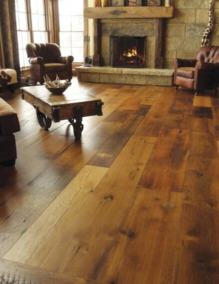 Olde Wood Limited Reclaimed Red and White Oak Flooring