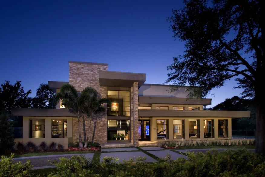 A WayCool custom home in Winter Park, Fla.