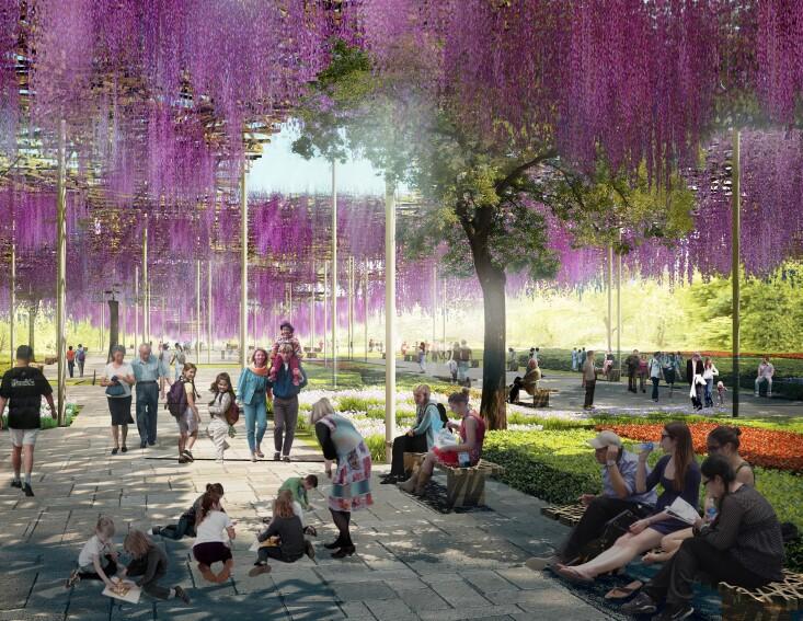 Beijing Horticultural Exposition Masterplan & Pavilion