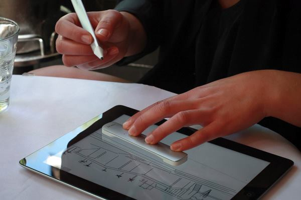 'Mighty' and 'Napoleon,' two products being explored by software developer Adobe, aim to bring the old-school feel of the T-square and pen to tablet-based drawing.