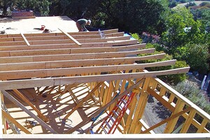 Custom Tapered LVL Roof Rafters