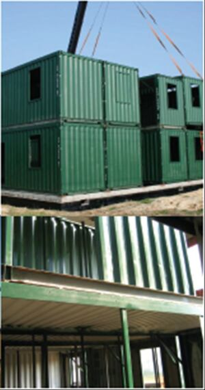 Recycled shipping containers > SG Blocks, St. Louis, www.sgblocks.com