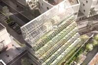 An Urban Farm Tower in France