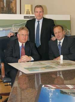 Roseland's executive trio consists of managing partners Carl J. Goldberg, Marshall B. Tycher, and Bradford R. Klatt, who have built their company on infill land purchases.
